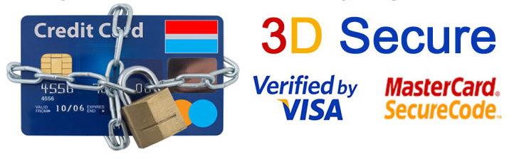 3D Secure augmente votre sécurité des paiements en ligne