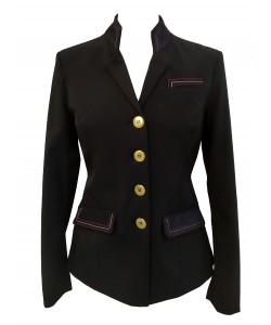 PLR Grand Prix Black Softshell Show Jacket
