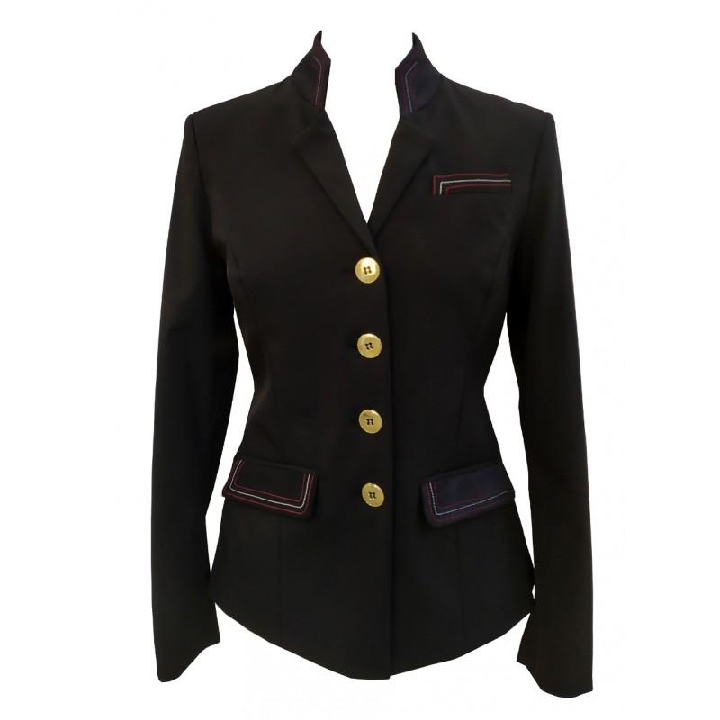PLR Grand Prix Black Softshell Show Jacket