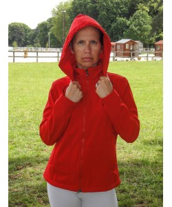 PLR Softshell Jacket - Red