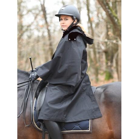 Imperméable d'Equitation PLR avec Capuche