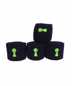 PLR Equitation Top Lux Polo Bandage - Navy Blue Fleece