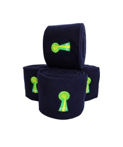 PLR Equitation Top Lux Polo Bandage - Navy Blue Fleece