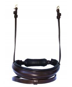 PLR Flash Noseband Bridle - English Leather