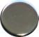 Bouton métal argenté